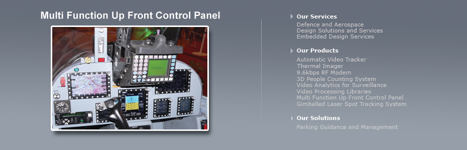 multi function - up front control panel